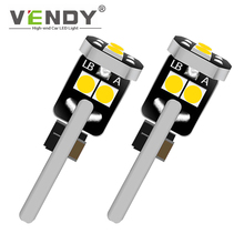 цена на 2x Canbus Car Interior Bulb Lamp LED Width Light W5W T10 For passat b6 b5 b5.5 b7 audi a6 c6 c5 c7 elantra santa fe swift jimny