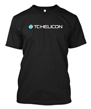 Vocal TC Helicon logotipo personalizado camiseta(China)