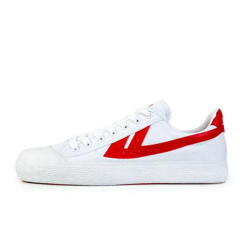 EU34-40 Warrior Men and Women Sports Shoes Lovers Classic Sports Shoes Classic Linen Shoes Unisex Sneakers