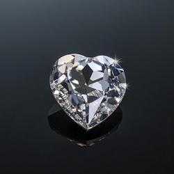 Szjinao Real 100% Loose Gemstone Moissanite Diamond 1.5ct 7.5mm D Color VVS1 Heart Moissanite Stone Undefined For Diamond Ring