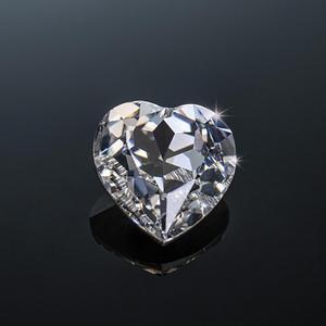 Szjinao réel 100% Moissanite en vrac pierre 6.5mm coeur excellente coupe D couleur VVS1 clair GRA Moissanite pour bijoux bague en diamant