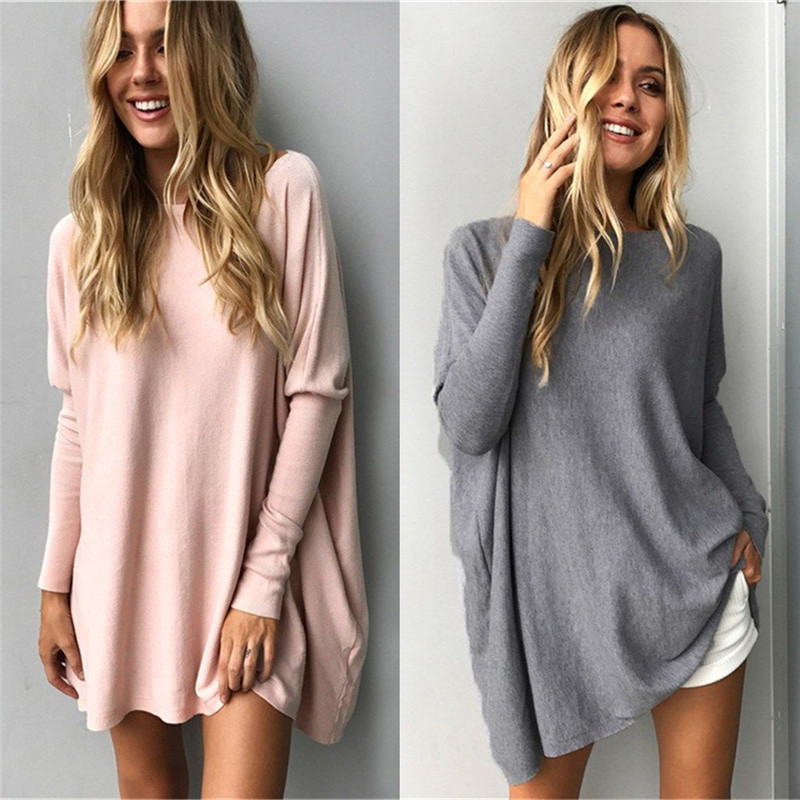 2019 New Long Sleeve Shirt Women Loose Autumn And Winter T Shirt Streetwear Plus Size Full Top Female Clothing Plus Size XXXL