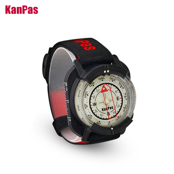 WristBand sighting compass, water proof, Light weight outdoors trekking ,hunting, hiking / with extra powerful luminous compass 1