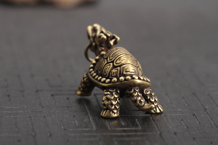 Dragon Turtle Keychains Pendants  (14)