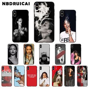 NBDRUICAI Rihanna Anti Travail Drake Coque Shell Phone Case for iPhone 11 pro XS MAX 8 7 6 6S Plus X 5 5S SE XR case(China)