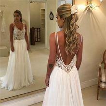 Элегантные платья невесты с v образным вырезом 2020 новые шифоновые