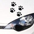 1 шт. крутая наклейка на автомобиль, дизайн лап, животное, собака, кот, медведь, лапа, отпечаток ноги, наклейки на автомобиль, серебристый, золо...