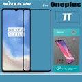 Nillkin Vetro Temperato per Oneplus 7T Protezione Dello Schermo di Vetro 2.5D Della Copertura Completa di Protezione di Sicurezza di Protezione In Vetro per Uno Più 7T
