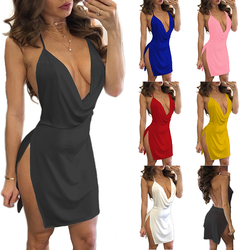 Sexy Shop Lingerie For Women Exotic Apparel Deep V Backless Lingerie Hot Erotic Underwear Femme American Costumes Sex Babydoll