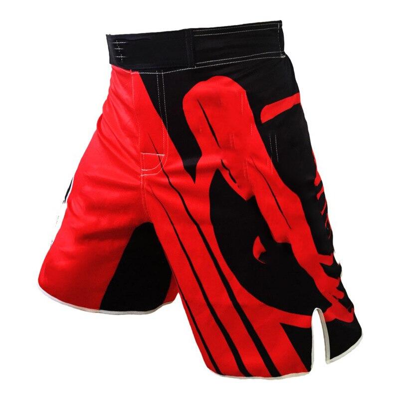 2019 novo masculino luta boxe de fitness respirável calças secagem rápida treinamento kickboxing tigre muay thai mma shorts