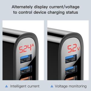 Image 3 - Kuulaa急速充電3 usb充電器30ワットqc 3.0急速充電ledディスプレイusbプラグウォール電話の充電器米国eu英国iphone xiaomi