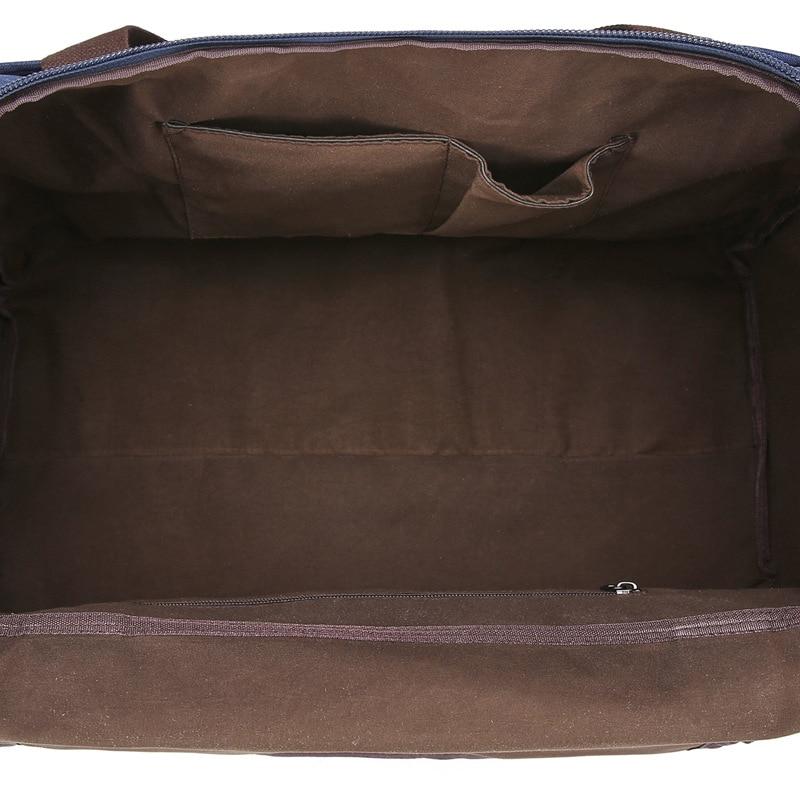 Bolsa de viaje de gran capacidad material anti salpicaduras para hombres y mujeres bolsa de viaje de color puro - 3