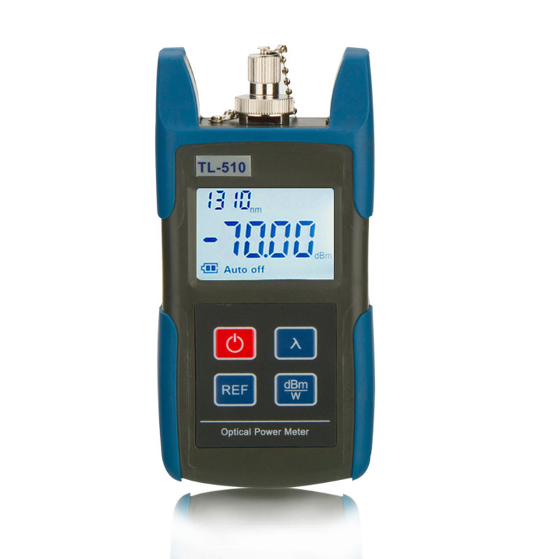 Portable Optical Power Meter, -50 - +26 dBm, SC/FC/ST Interfaces, Fiber TL510C for CATV Test, CCTV Test and Telecommunication