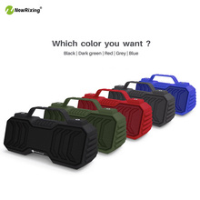 Outdoor Wireless Bluetooth Speaker with Handbar 2*3w Portable Soundbar with FM Radio Mini Subwoofer Support TF Card 5 Colors slang 3w bluetooth v3 0 multifunctional speaker w fm microphone tf deep pink