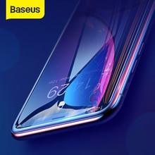 Baseus 2 adet 0.23mm tam kapsama temperli cam iPhone 12 Pro Max 12 ekran koruyucu İnce koruyucu cam iPhone XR