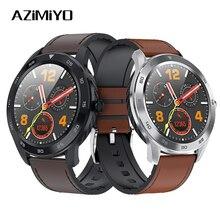 Azimiyo dt 스마트 시계 방수 ip68 심박수 추적기 지원 gps 남자 스포츠 트래커 smartwatch for android ios