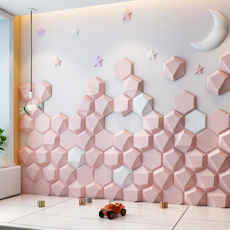 Tete Chambre A Coucher Cabezal Children Coussin T Te Lit Kid Cabeceira Pared 3d Wall Sticker Cabecero De Cama Bed Headboard