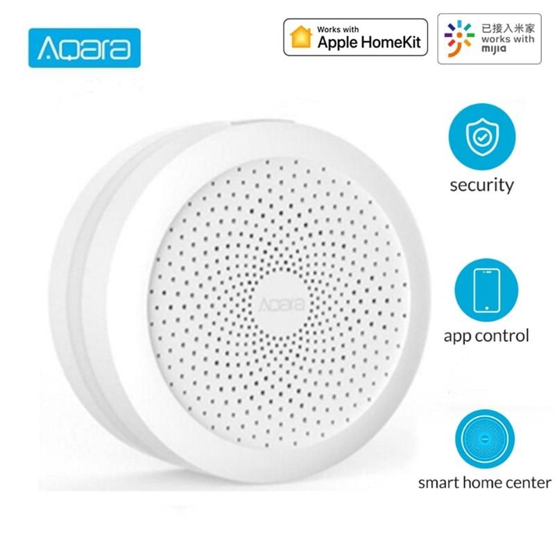 Aqara Hub Wireless WiFi Zigbee Smart Gateway With RGB Led Night Light Smart Home Center Works With Apple Homekit