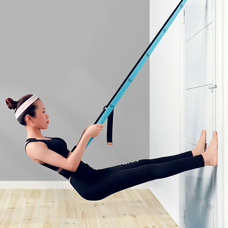 Adjustable Aerial Yoga Strap Product Using