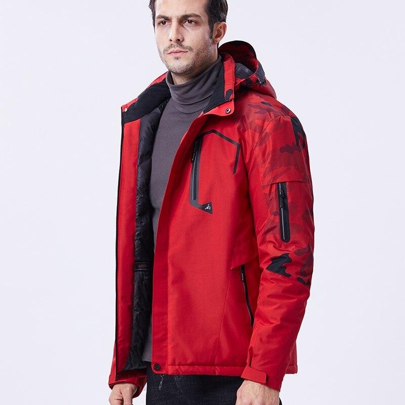 10XL Men Women Jacket Winter Outdoor Fishing Camping Hiking Climbing Coat Camouflage Windproof Waterproof Fleece Windbreaker