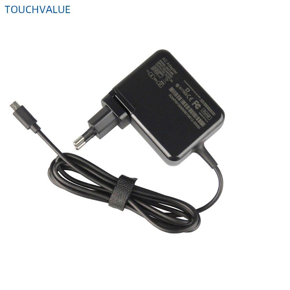 Замена Черный 24 Вт Мощность адаптер 1,8 м кабель для Dell Venue 11 Pro 19,5 V 1.2A Зарядное устройство стандарта ЕС, США, Великобритании AU штепсельная вилк...