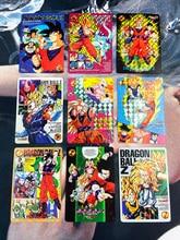 9pcs/set Dragon Ball Z Jumbo Adventure Stories Super Saiyan Goku Vegeta No.2 Hobby Collectibles Game Anime Collection Cards