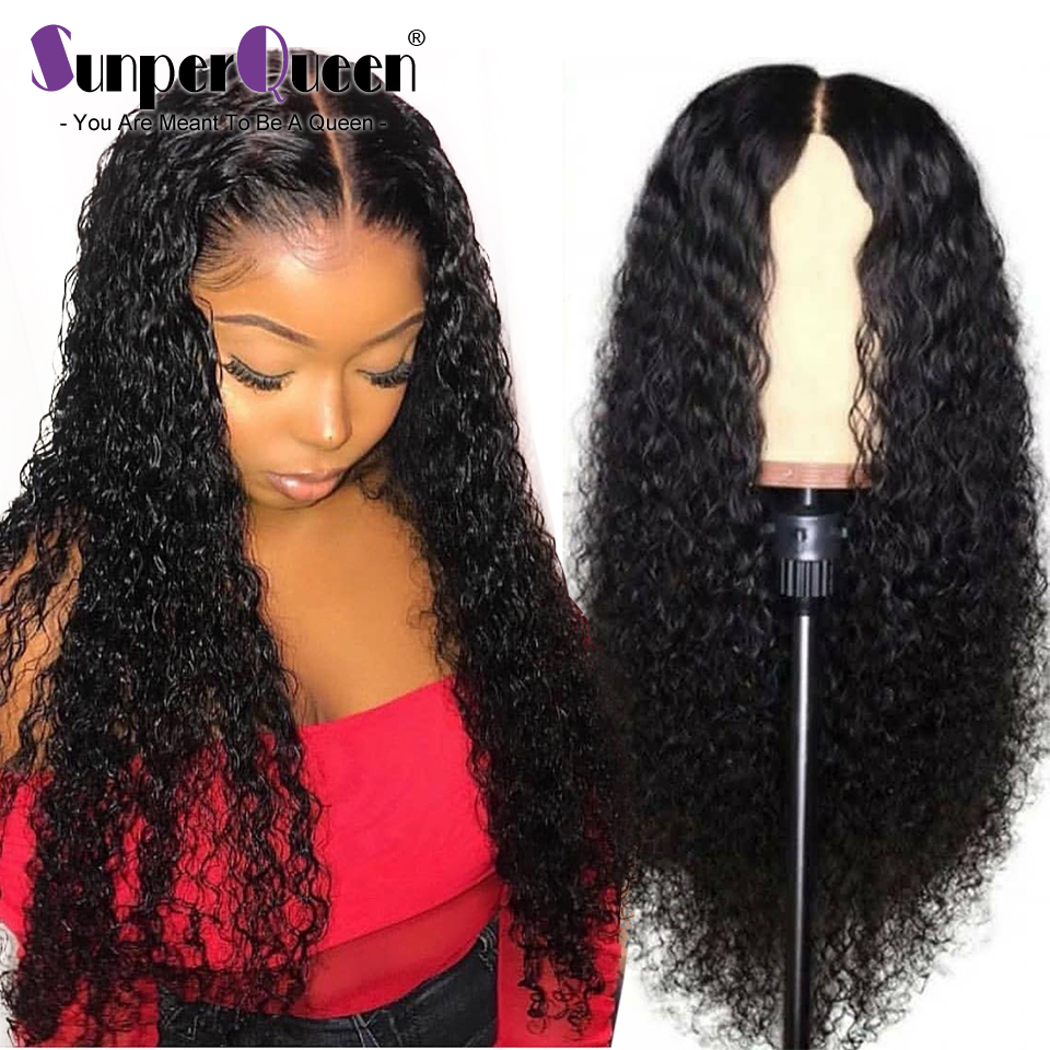 Lace Front Human Hair Wigs Remy Hair Brazilian Curly Human
