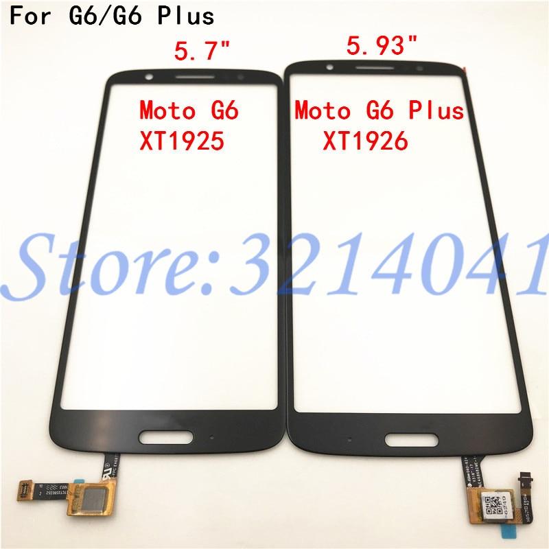 Оригинальный Новый сенсорный экран для Motorola Moto G6 XT1925 / G6 Plus XT1926 сенсорный экран дигитайзер Сенсорная панель Запчасти