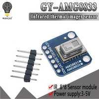 WAVGAT offizielle AMG8833 IR 8*8 Thermische Imager Array Temperatur Sensor Modul 8x8 Infrarot Kamera Sensor