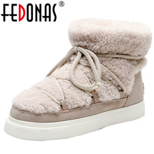 Flats Platform-Boots Casual-Shoes FEDONAS Dancing Female Women Cow-Suede Big-Size Sweet