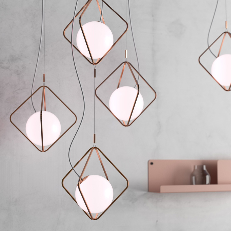 Modern Glass Pendant Light Nordic Dining Room Kitchen Light Designer Hanging Lamps Avize Lustre Lighting Ing Luminaria