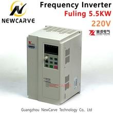 Fuling VFD 4.5kw 5.5kw Frequency Converter Inverter For 220v 380v Cnc Atc Spindle Motor Newcarve стоимость