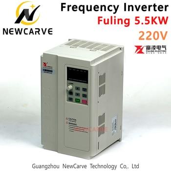 цена на Fuling VFD 4.5kw 5.5kw Frequency Converter Inverter For 220v 380v Cnc Atc Spindle Motor Newcarve