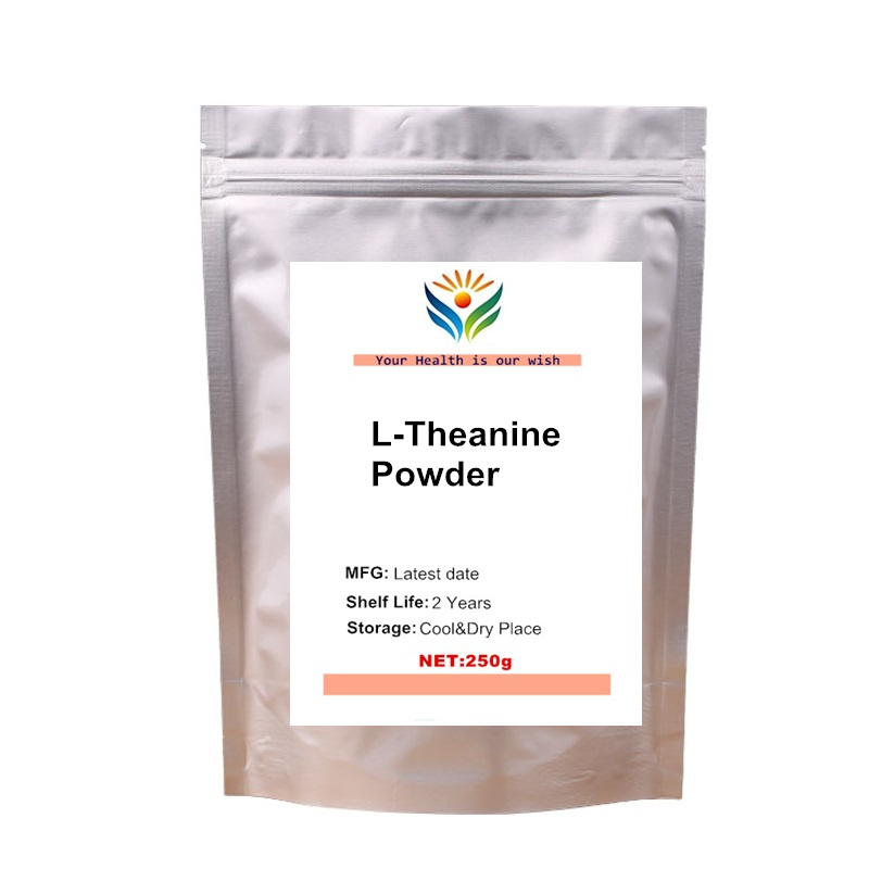 L-Theanine Pure Pharmaceutical Quality Powder Stress Anxiety High Quality
