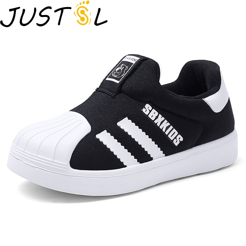 Kids Shoes Casual Child Sneakers Fashion Children Styles Shell Head Shoes Slip On Breathable Boys Shoes Trainers Tenis Infantil