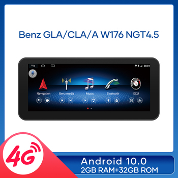 MCWAUTO For Benz GLA/CLA/A W176 2013-2015 Android 10.0 Car Multimedia Radio GPS Navi Stereo 2+32GB RAM WIFI BT AUX 10.25 inch image