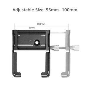 """Image 2 - Untoom Soporte Universal de aluminio para teléfono móvil, para manillar de bicicleta, MTB, motocicleta, Scooter, bicicleta, teléfono inteligente de 3,5 """"a 7"""""""