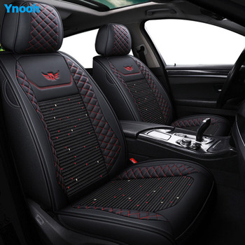 Ynooh Car seat covers For hyundai getz accent 2008 santa fe tucson elantra creta veloster grand i10  ioniq i10 car protector