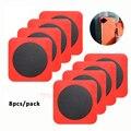FOSHIO Silikon Metall Adsorptive Patch Blatt für Fenster Glas Tapete Aufkleber Vinyl Auto Wrap Film Fix Magnet Halter DIY Werkzeug auf