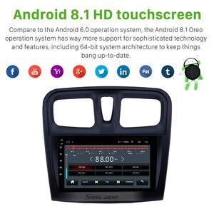 "Image 3 - Seicane reproductor Multimedia para coche Renault Sandero, 2Din, 9 "", Android 9,1, GPS para coche, reproductor Multimedia para 2012, 2013, 2014, 2015, 2016, 2017"