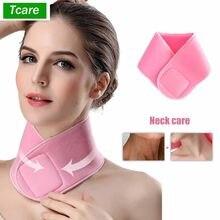 Tcare – masque pour le cou en Silicone réutilisable, tampon de soins pour le cou, tampons Anti-rides pour le traitement de la nuque, prévention, dissolvant