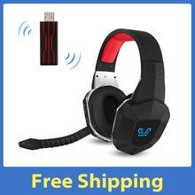 HW-N9U com microfone removível 2.4g fone de ouvido de jogos sem fio virtual 7.1 surround sound headset substituição para ps4/pc/mac