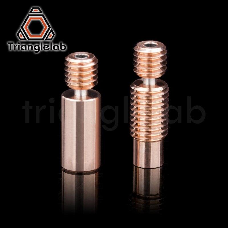 Trianglelab Bi-Metal Heatbreak Bimetal тепловой break для E3D V6 HOTEND нагревательный блок для Prusa i3 MK3 Break 1,75 мм Гладкая нить title=