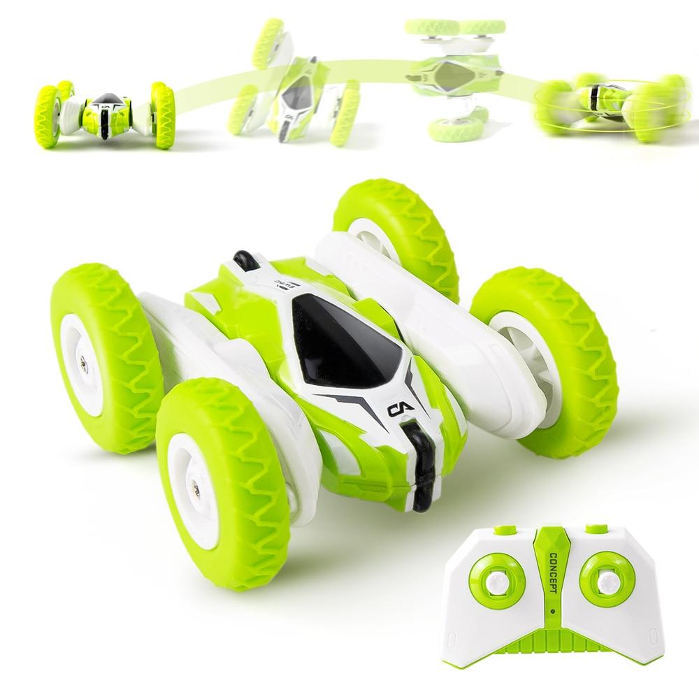 Mini RC Car 4CH Stunt Drift Deformation Buggy Car remote control Rock Crawler Roll Cars 360 Degree Flip RC Cars Toys for Kids