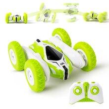 Mini RC araba 4CH dublör sürüklenme deformasyon Buggy araba uzaktan kumanda kaya paletli rulo otomobil 360 derece çevirme RC oyuncak arabalar çocuklar için