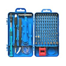 110 In 1 Precision Screwdriver Kit Accessory Set for iPhone Laptop PC Watch CR-V Steel Mini DIY Hand Work Repair Tools