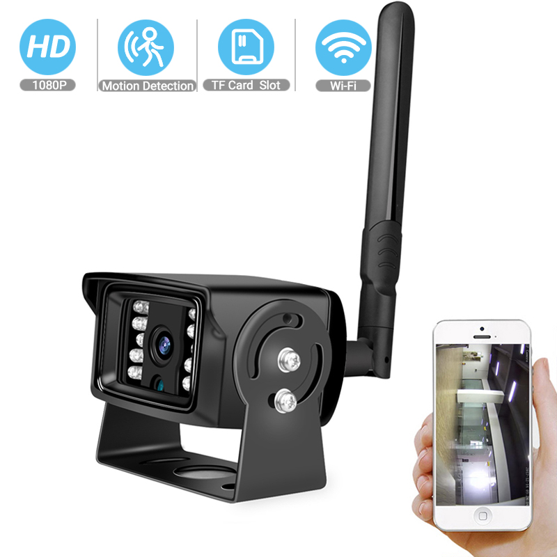 BESDER HD 1080P 960P 720P Wireless Mini Camera P2P ONVIF Metal Case  Outdoor Home Security CCTV Surveillance With SD Card Slot
