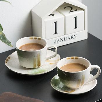 Filiżanka kawy ceramiczna filiżanka do kawy z łyżeczką w stylu europejskim luksusowa retro popołudniowa herbata filiżanka kawy filiżanka i spodek zestaw gospodarstwa domowego tanie i dobre opinie CN (pochodzenie) Ceramiki kubki do kawy Europejska Bez elementów Uchwyt Mugs Ekologiczne