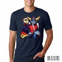 Camisa de t camisa masculina engraçado camiseta goldorak grendizer ufo robô gráfico