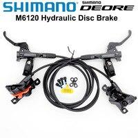 NEW Shimano DEORE M6000 M6100 Brake Mountain Bikes Hidraulic Disc Brake MTB BL-M6000 BR-M6000 BR-M6120 BDEORE Brake Left & Right